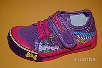 Детские Кеды Super Gear Венгрия 9953 Для девочек Фиолетовый размеры 26_31, фото 1