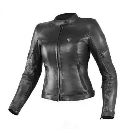 Мотокуртка кожаная женскаяShima Monaco(Black)