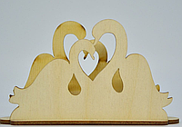 Салфетница  декоративная пара лебедей