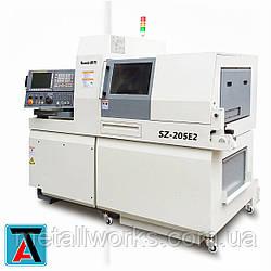 Токарный автомат швейцарского типа Sowin SZ-205E1/255E1, SZ-205E2/255E2