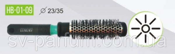 HB-01-09 Щетка массажная для волос LUXURY
