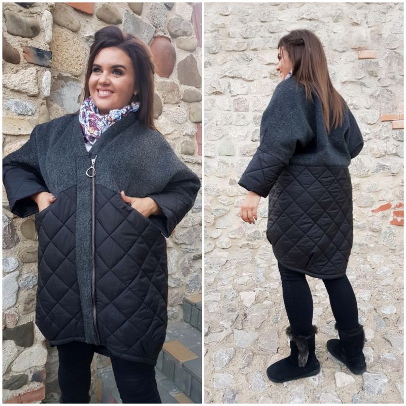 Женское стильное пальто Арт.05043 ХЛ+