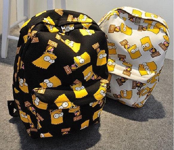 Рюкзак шкільний повсякденний дитячий-підлітковий барт сімпсони bart.