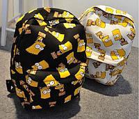 Рюкзак шкільний повсякденний дитячий-підлітковий барт сімпсони bart., фото 1