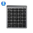 Клавиатура цифровая беспроводная bluetooth 28 клавиш. Bluetooth числовая клавиатура на батарейках, фото 8