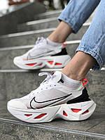 Кроссовки NIKE женские,белые женские кроссовки. ТОП качество!!! Реплика, фото 1