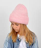 """Детская шапка """"Даша"""" розовый, фото 1"""