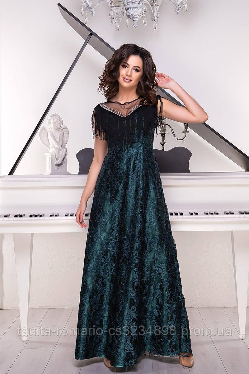 Вечернее платье 9046e Бутылка L(р)