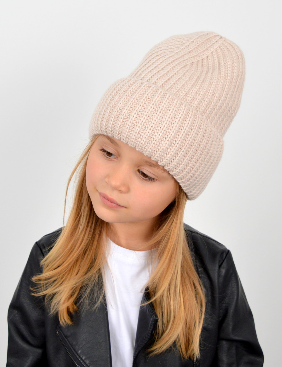 "Детская шапка ""Даша"" беж"