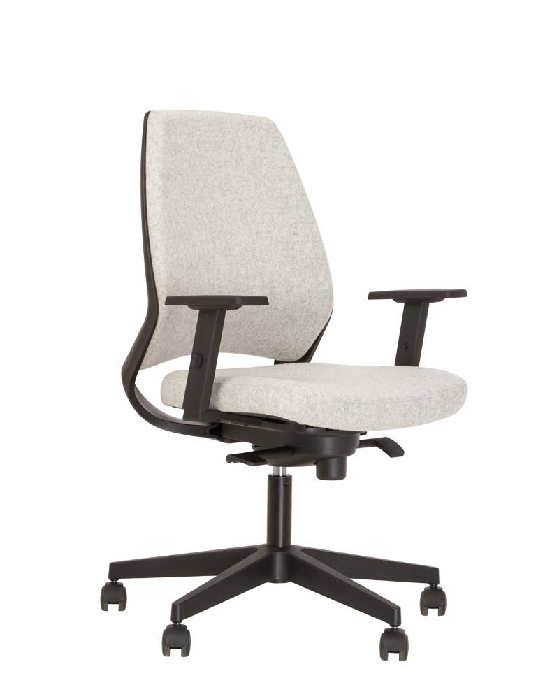 Крісло офісне 4U R 3D black механізм ES хрестовина PL70, тканина CUZ-28 (Новий Стиль ТМ)
