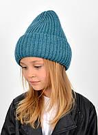 """Детская шапка """"Даша"""" изумруд, фото 1"""