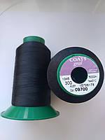 Нитки Coats gral 09700 / 300 / 5000м колір чорний