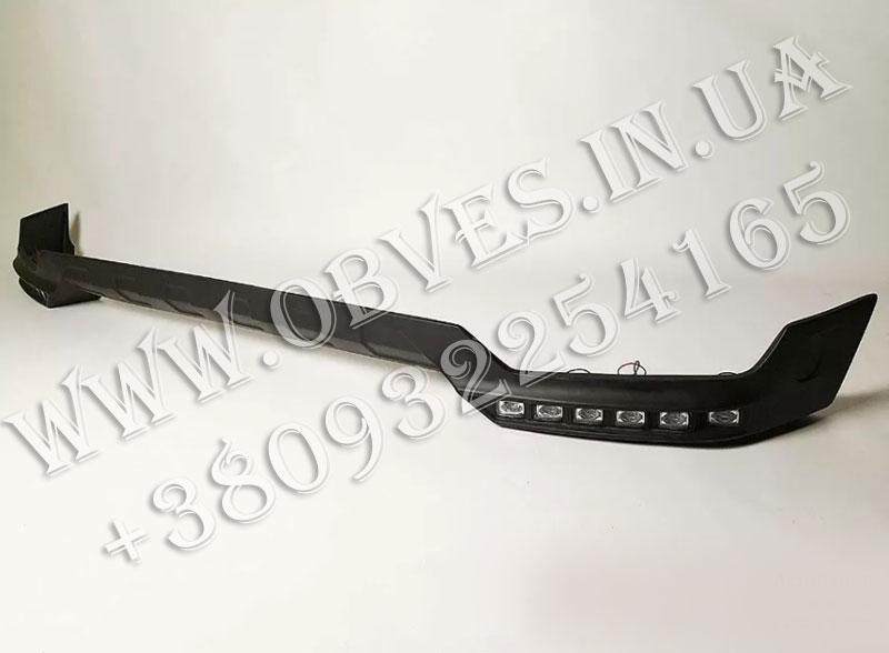 Докладка переднего бампера Brabus для Mercedes G-class