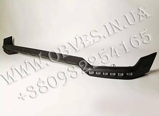 Докладка переднего бампера Brabus для Mercedes G-class (ABS-пластик)