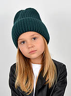 "Детская шапка ""Даша"" бутылка, фото 1"