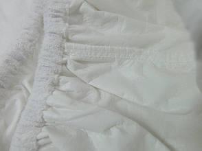 Наматрасник-простынь Leleka-textile Антивода на резинке с бортами  160*200 махровая, фото 3