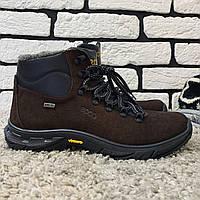Зимние ботинки (на меху) мужские ECCO (реплика) 13045 ⏩ [ 41,42,43,43,44,45 ], фото 1