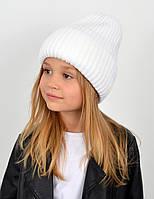 """Детская шапка """"Лола"""" белый"""