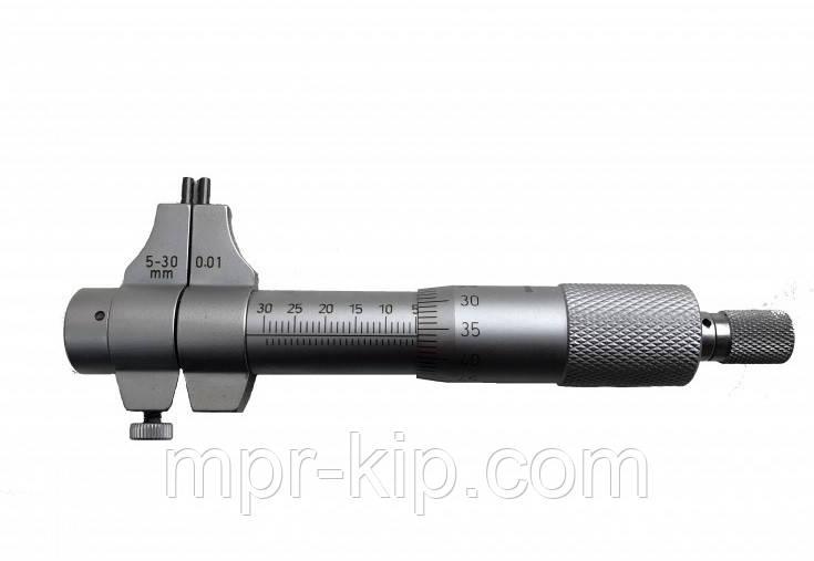 Мікрометр для внутрішніх вимірювань KM-3304-30 (5-30 мм; ±0,010 мм) ноніусний
