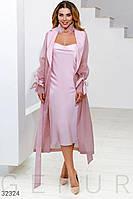 Шелковое платье в бельевом стиле  XS S M L XL, фото 1