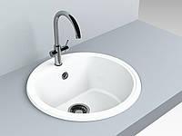 Кухонная мойка Malibu Miraggio Ø516*220 мм White