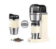 Кофеварка KitchenAid + персональная кружка 540 мл кремовая  5KCM0402EAC
