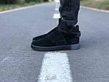 Мужские кроссовки Adidas Tubular Invader Triple black черные замша 40-44рр. Живое фото. (Реплика ААА+), фото 2