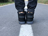 Мужские кроссовки Adidas Tubular Invader Triple black черные замша 40-44рр. Живое фото. (Реплика ААА+), фото 6