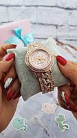 Женские наручные часы Michael Kors копия класса люкс, жіночі годинники Michael Kors (розовое золото/розовый), фото 1