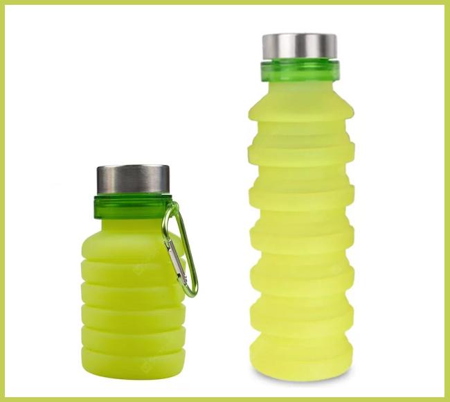 Силиконовая бутылка LUX Bottle (салатовая)