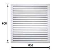 Решетка вентиляционная 600 х 600 экран радиаторный для батареи