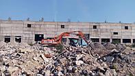 Демонтаж зданий, железобетонных конструкций и сооружений