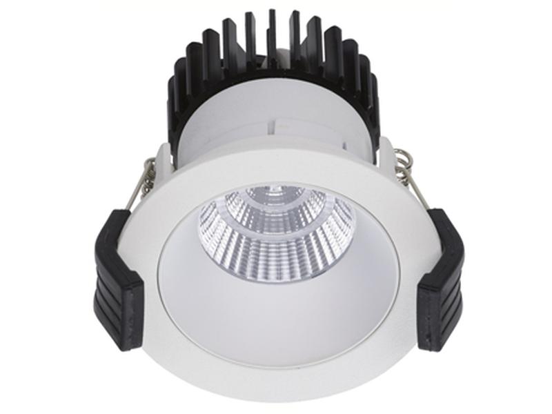 LED встраиваемый светильник IP20, Световые технологии COOL 13 WH/WH D45 3000K [1412000200]