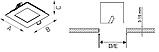 LED встраиваемый светильник IP54, Световые технологии ACQUA S 12 WH 4000K [1596000220], фото 3