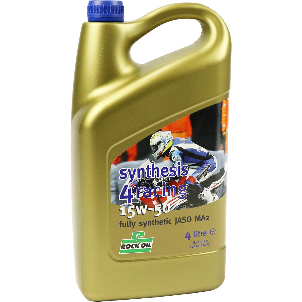 Масло моторное ROCK OIL Synthesis 4 Racing 15W50, 4L