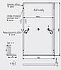 Сонячна батарея AXIOMA energy AXP120-12-156-290 (12BB Half Cell), фото 3