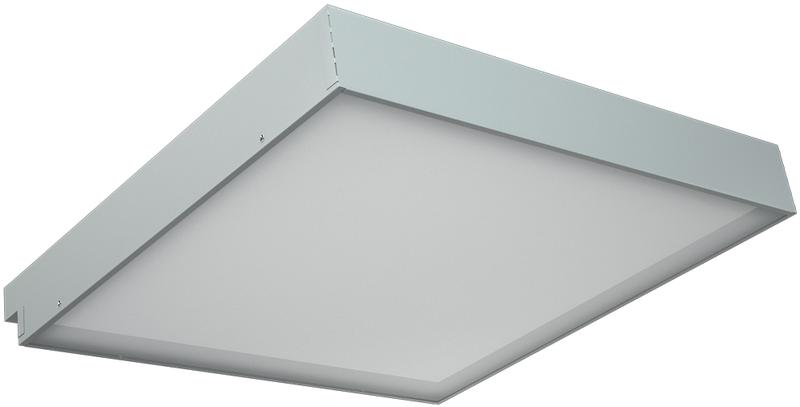 LED светильники для потолка IP20, Световые технологии OPL/R ECO LED 1200x600 4000K ROCKFON [1028000460]