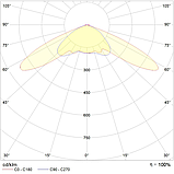 LED светильники для низких потолков IP65, Световые технологии ACORN LED 30 D150 5000K [1490000040], фото 2