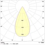 LED встраиваемый светильник IP20, Световые технологии COOL 07 WH/GL D45 4000K [1412000050], фото 2