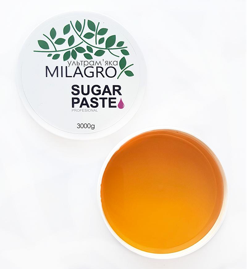 Сахарная паста для шугаринга Milagro Ультрамягкая 3000 г (vol-160)