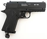 Пневматический пистолет Borner WS 401 газобаллонный CO2, фото 2