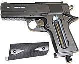 Пневматический пистолет Borner WS 401 газобаллонный CO2, фото 3