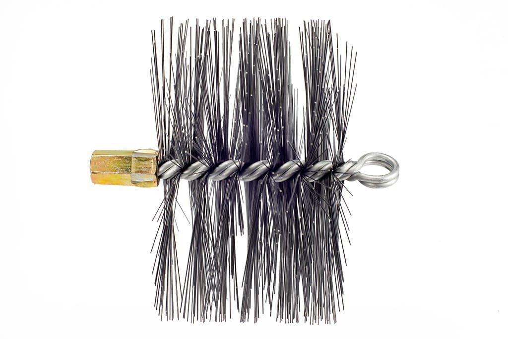Щітка (йорж) металева для чищення димоходу Savent 160 мм