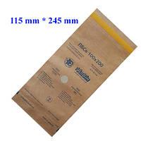 Крафт-пакеты 115*245 мм для стерилизации (100 шт/уп)