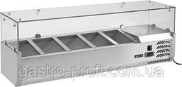Витрина холодильная настольная 5хGN 1/4 YatoGastro YG-05320, фото 2