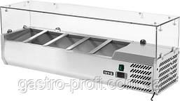 Витрина холодильная настольная 5хGN 1/4 YatoGastro YG-05320, фото 3