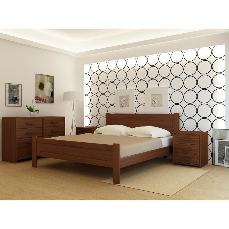 """Кровать деревянная TM """"YASON"""" Dublin (Массив Ольхи либо Ясеня)"""
