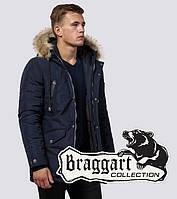 Braggart Dress Code 27830 | Парка мужская с опушкой синяя, фото 1