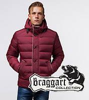 Braggart Dress Code 20849 | Куртка зимняя с капюшоном бордовая, фото 1