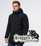 Braggart Dress Code 36640   Зимняя парка с капюшоном черная, фото 1